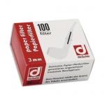Filty papierowe 3mm 100 szt 644