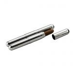 Etui metalowe-tuba na 2 cygara 54744