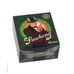 Bibułka Smoking King Size Green 90062