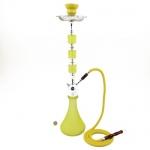 Fajka wodna Modern Neon żółta  63 cm  93606