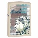 Zapalniczka Zippo kremowy mat Kurt Cobain 99042 N